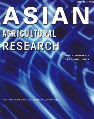 《Asian Agricultural Research》2009年02期