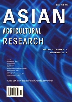 Asian Agricultural Research2018年第11期