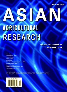 Asian Agricultural Research2018年第12期