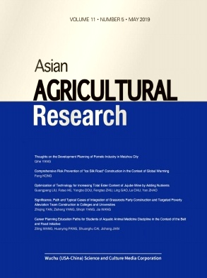 Asian Agricultural Research2019年第05期