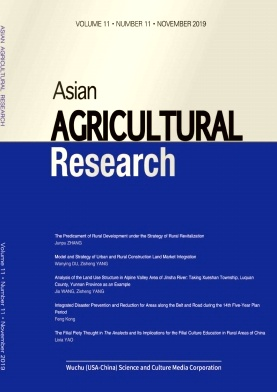 Asian Agricultural Research2019年第11期