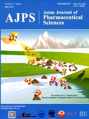 Asian Journal of Pharmaceutical Sciences2019年第03期
