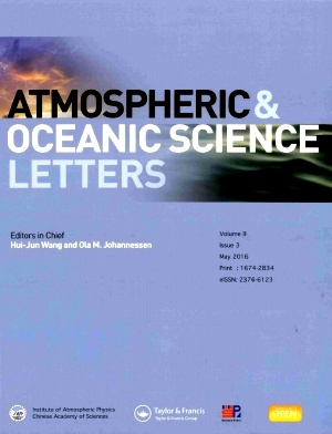 Atmospheric and Oceanic Science Letters2016年第03期