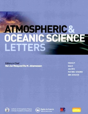 Atmospheric and Oceanic Science Letters2016年第04期