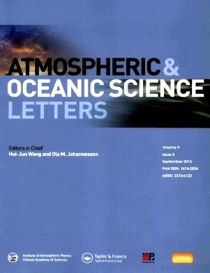 Atmospheric and Oceanic Science Letters2016年第05期