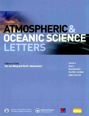 Atmospheric and Oceanic Science Letters2016年第06期