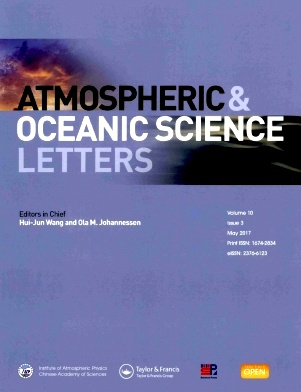 Atmospheric and Oceanic Science Letters2017年第03期
