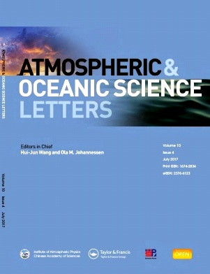Atmospheric and Oceanic Science Letters2017年第04期