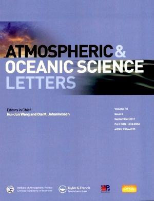 《Atmospheric and Oceanic Science Letters》2017年05期