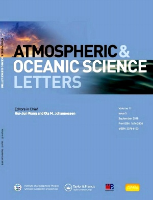 Atmospheric and Oceanic Science Letters2018年第05期