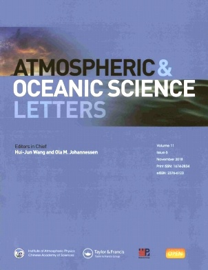 Atmospheric and Oceanic Science Letters2018年第06期