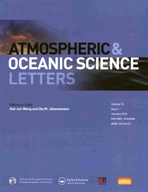 Atmospheric and Oceanic Science Letters2019年第01期
