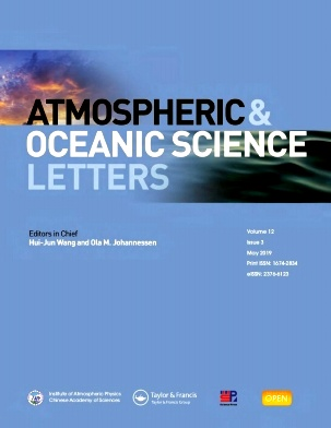 Atmospheric and Oceanic Science Letters杂志