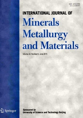 《International Journal of Minerals Metallurgy and Materials》2015年06期