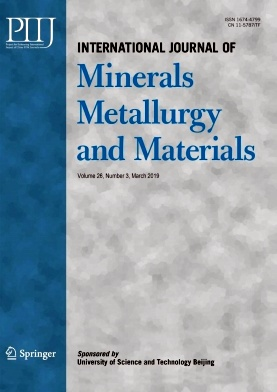 International Journal of Minerals Metallurgy and Materials2019年第03期
