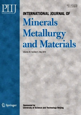 International Journal of Minerals Metallurgy and Materials2019年第05期