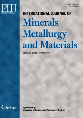 International Journal of Minerals Metallurgy and Materials2019年第10期