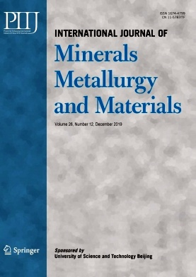 International Journal of Minerals Metallurgy and Materials2019年第12期
