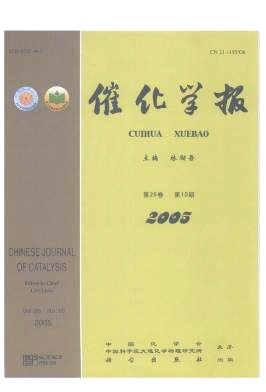 Chinese Journal of Catalysis杂志电子版2005年第10期