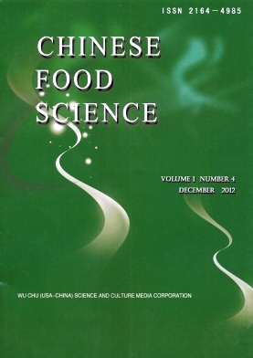 Chinese Food Science