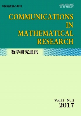Communications in Mathematical Research2017年第03期