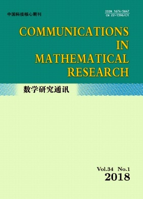 Communications in Mathematical Research2018年第01期