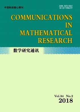 Communications in Mathematical Research2018年第02期