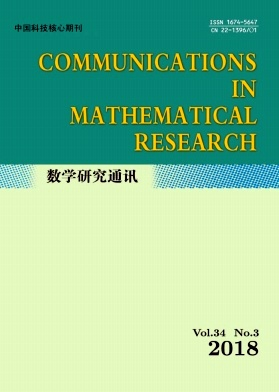 Communications in Mathematical Research2018年第03期