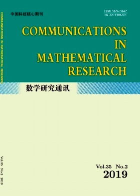 Communications in Mathematical Research2019年第02期