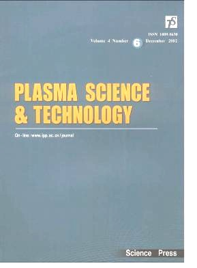 Plasma Science and Technology杂志电子版2002年第06期