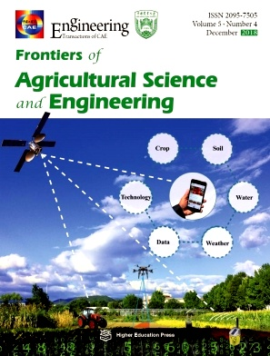 Frontiers of Agricultural Science and Engineering
