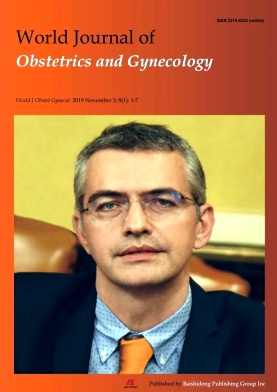 World Journal of Obstetrics and Gynecology2019年第01期