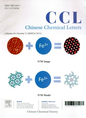 《Chinese Chemical Letters》2013年03期