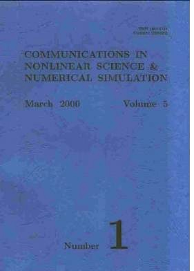 Communications in Nonlinear Science and Numerical Simulation2000年第01期