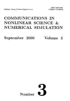 Communications in Nonlinear Science and Numerical Simulation2000年第03期