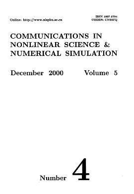 Communications in Nonlinear Science and Numerical Simulation2000年第04期