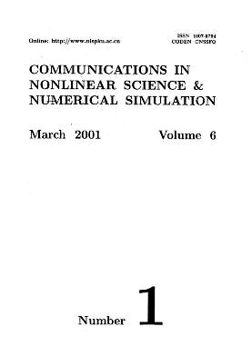 Communications in Nonlinear Science and Numerical Simulation2001年第01期