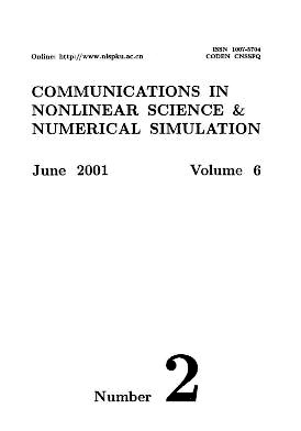 Communications in Nonlinear Science and Numerical Simulation2001年第02期