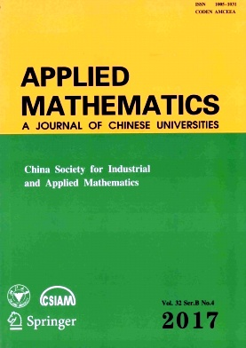 Applied Mathematics:A Journal of Chinese Universities2017年第04期