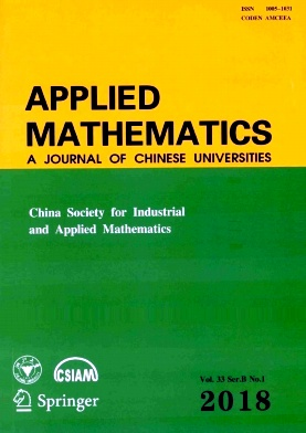 Applied Mathematics:A Journal of Chinese Universities2018年第01期