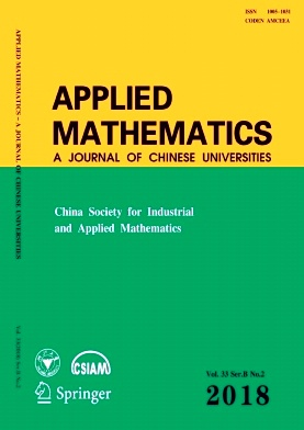Applied Mathematics:A Journal of Chinese Universities2018年第02期