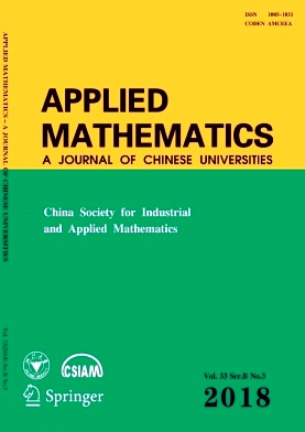 Applied Mathematics:A Journal of Chinese Universities2018年第03期