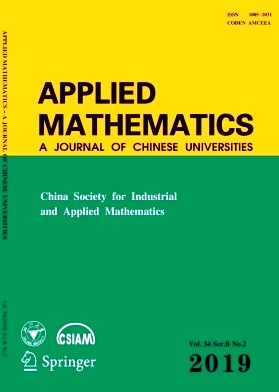 Applied Mathematics:A Journal of Chinese Universities2019年第02期