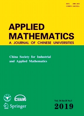 Applied Mathematics:A Journal of Chinese Universities2019年第03期