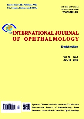 International Journal of Ophthalmology2019年第01期