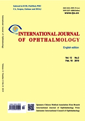 International Journal of Ophthalmology2019年第02期