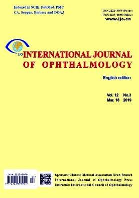 International Journal of Ophthalmology2019年第03期