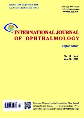 International Journal of Ophthalmology2019年第04期