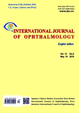 International Journal of Ophthalmology2019年第05期