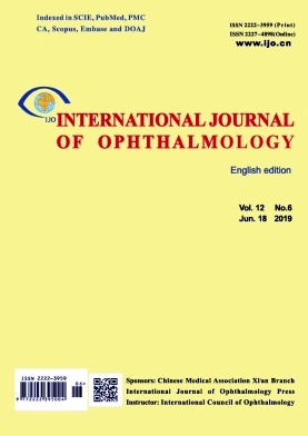 International Journal of Ophthalmology2019年第06期